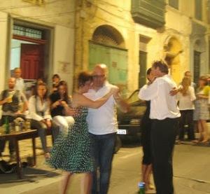 Isla del Tango Street Tango during Notte Bianca 2011