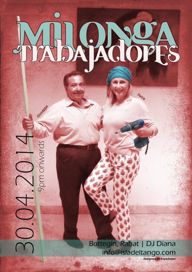 Designed by the tanguero, artist & designer: Arpadosso