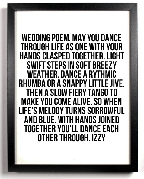 Wedding Poem