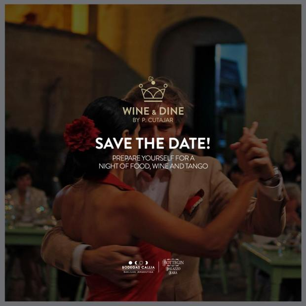 Wine, Food & Tango Bottegin Palazzo Xara, Rabat 15.07.2015